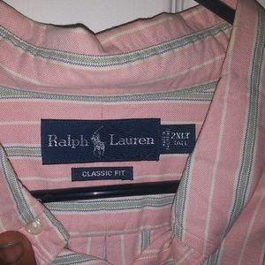 Men's 2x Ralph Lauren button down polo shirt